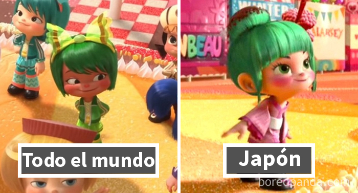 Rompe Ralph: Minty Zaki Es Minty Sakura En Japón