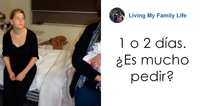 Una Publicación Viral De Una Madre Muestra Por Qué No Has De Visitar A Alguien Que Acaba De Dar A Luz