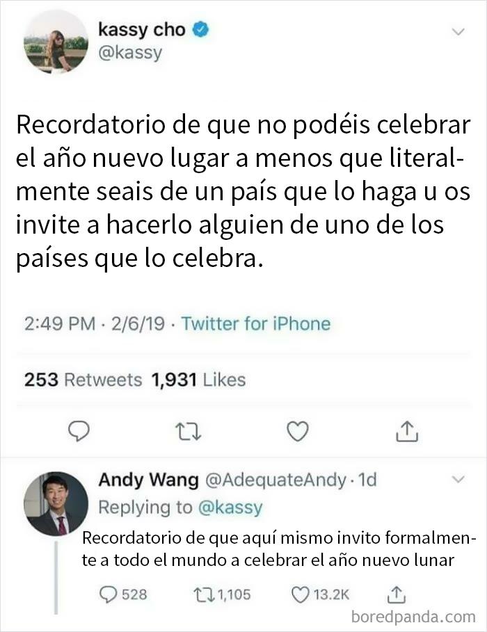 Gracias, Andy Wang