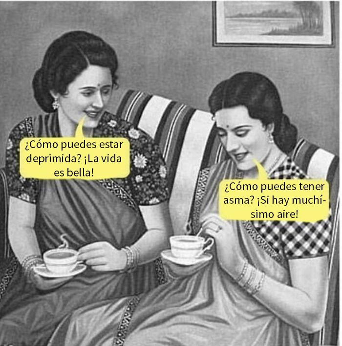 Depresión vs. Asma