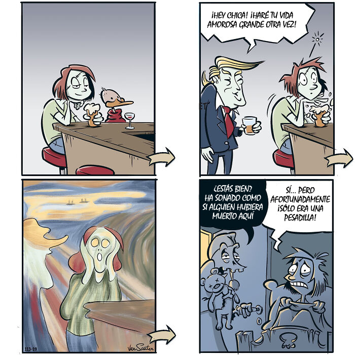Artist Creates Comics About A Girl In Her Afterlife (40 Pics)