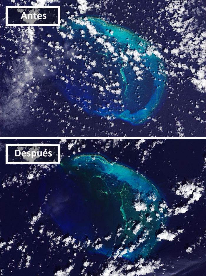Isla Hawaiana Disaparece