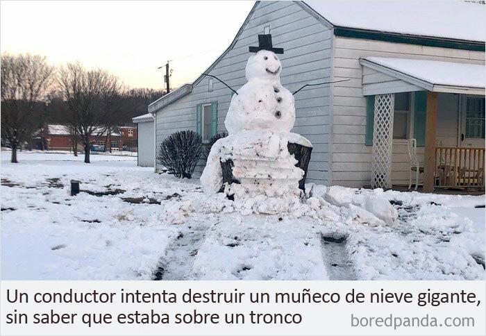Muñeco de nieve 1, Conductor 0