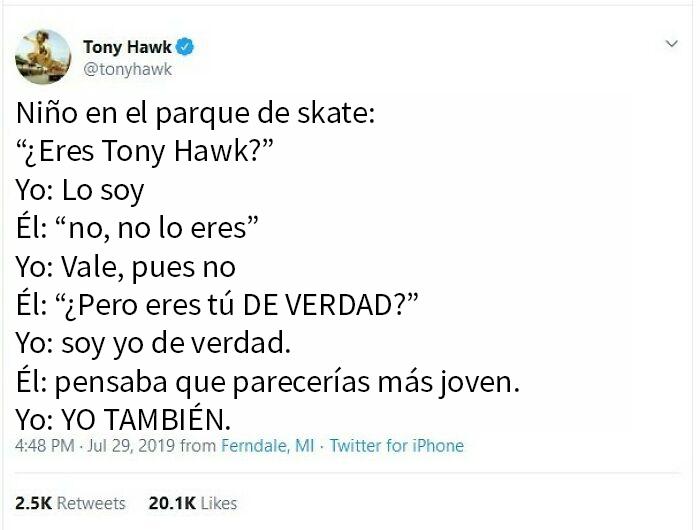 Tony Hawk Y Su Eterno Problema