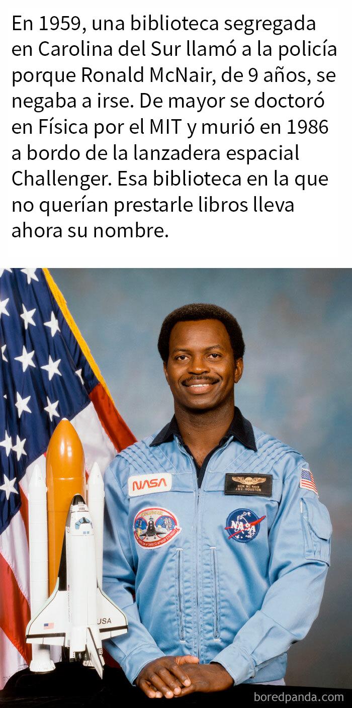 El Astronauta Ronald Mcnair