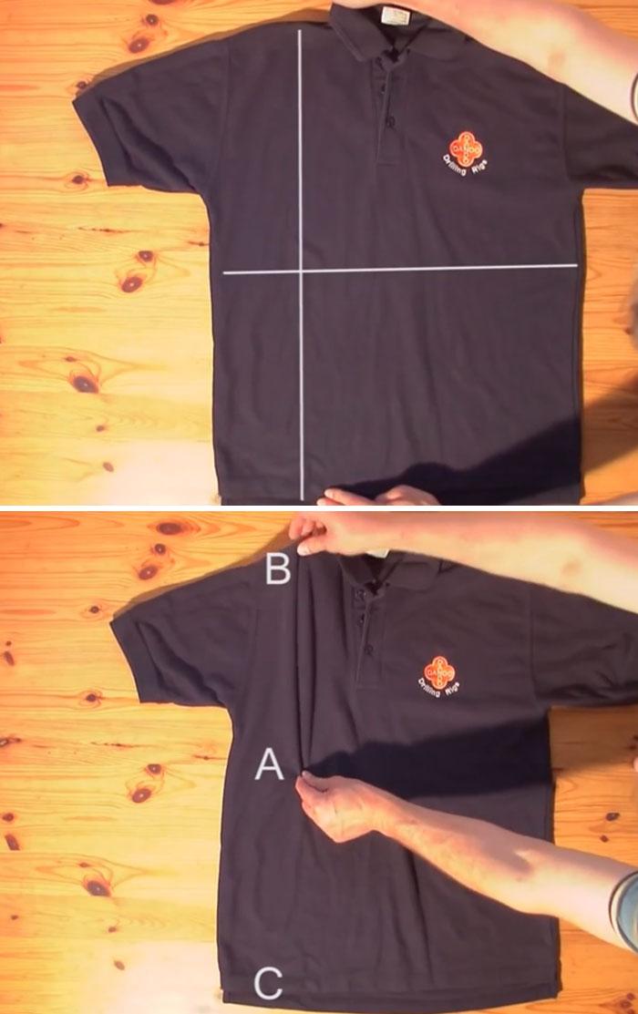 Cómo Doblar Camisetas