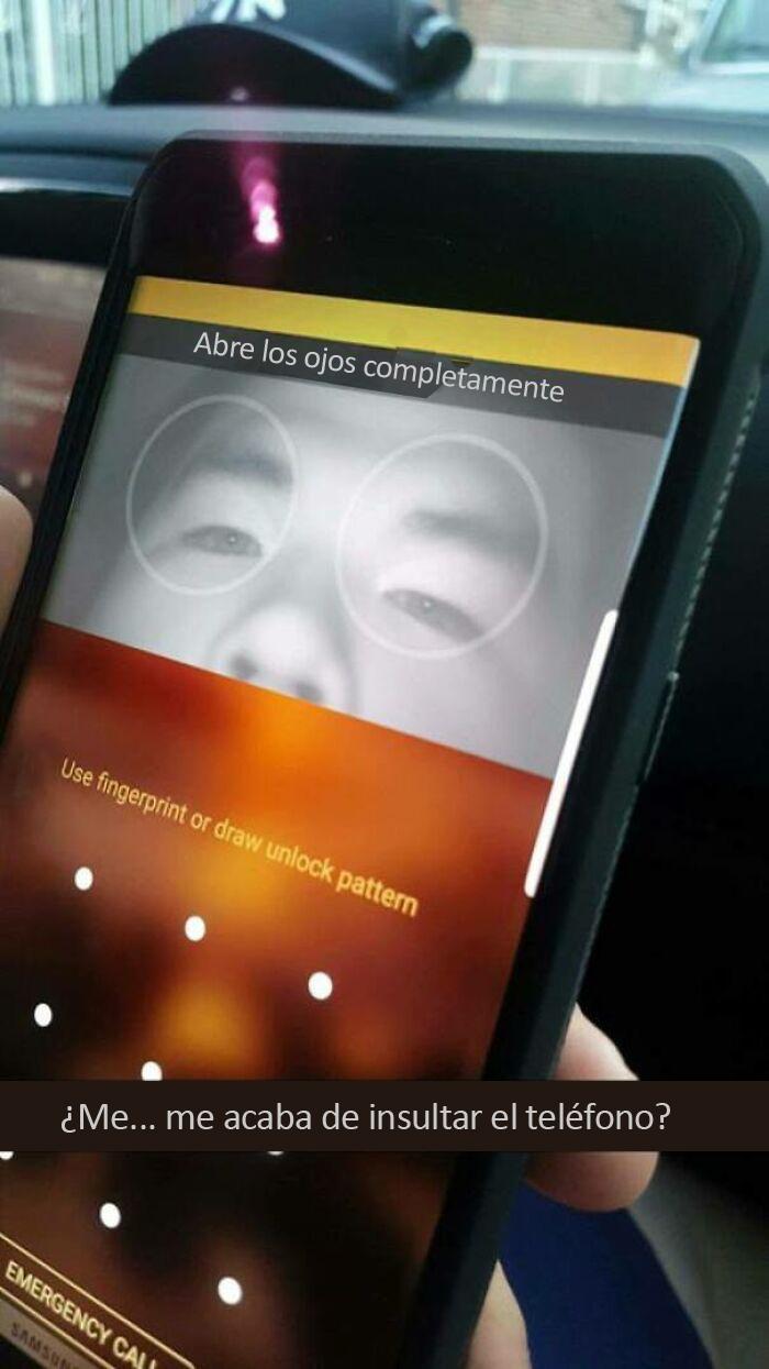 Soy un asiático que finalmente usó la tecnología de reconocimiento de iris en su teléfono