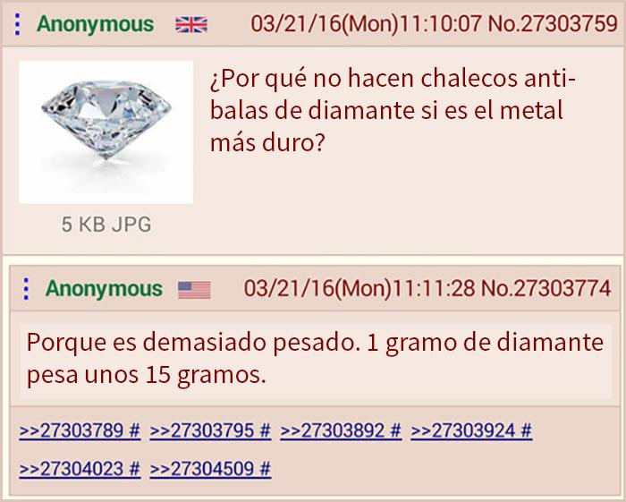 Los Diamantes Pesan Más Que Los Diamantes