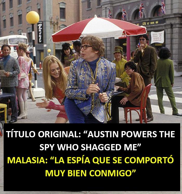 Austin Powers: La Espía Que Se Comportó Muy Bien Conmigo (Malasia)