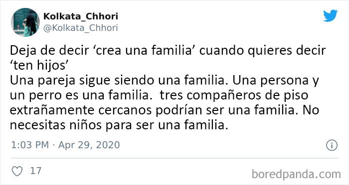 Una familia es una familia es una familia
