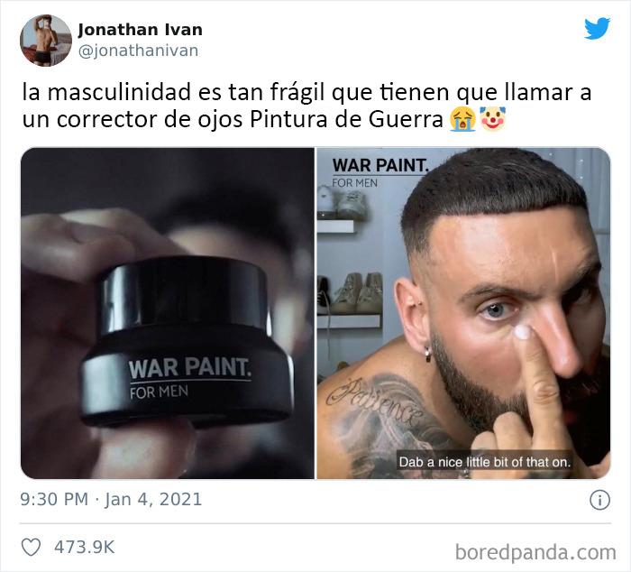 No tío, es Pintura de Guerra