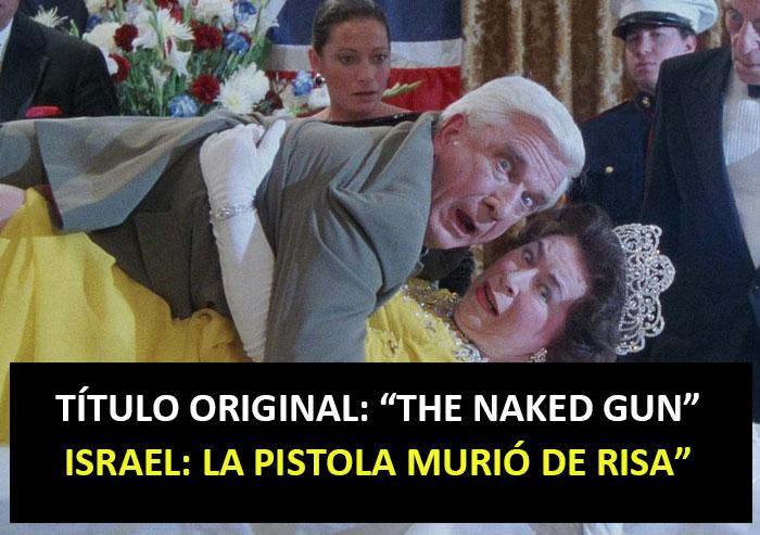La Pistola Murió De Risa (Israel)