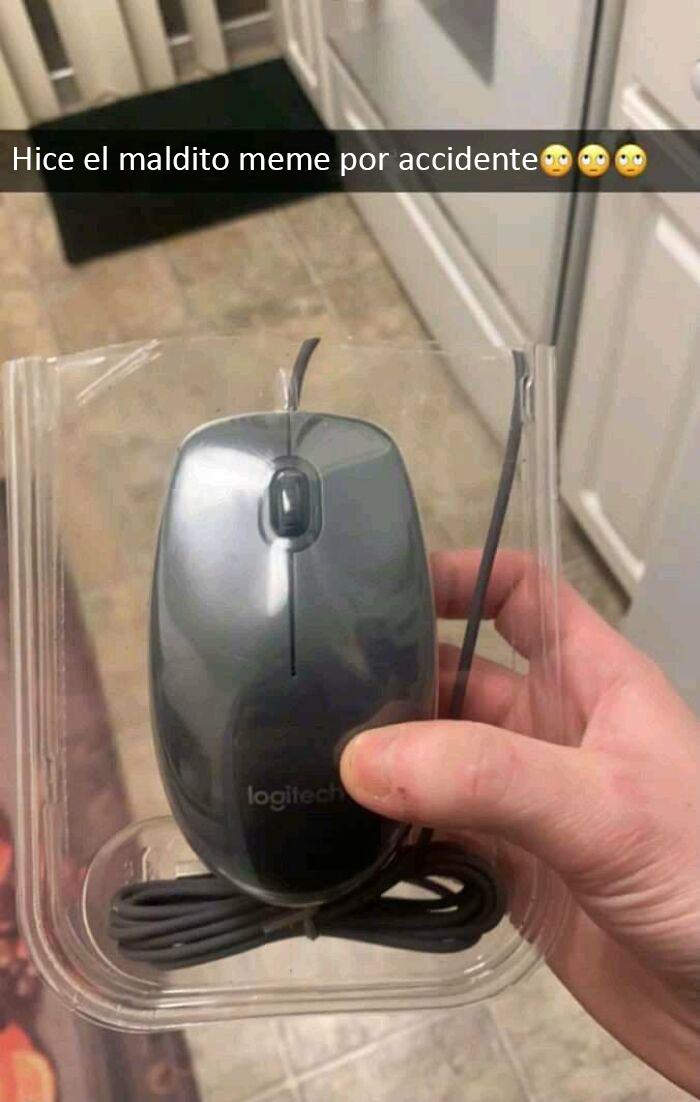 Compartido en Facebook. ¿Por qué no funciona mi ratón?