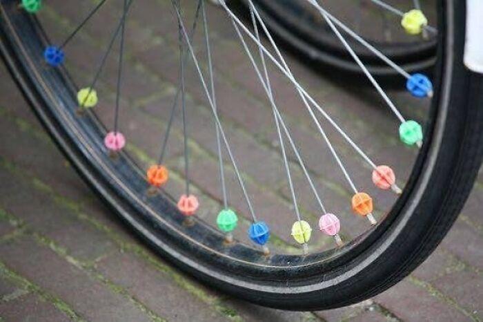 Poner Cuentas En Las Ruedas De La Bici