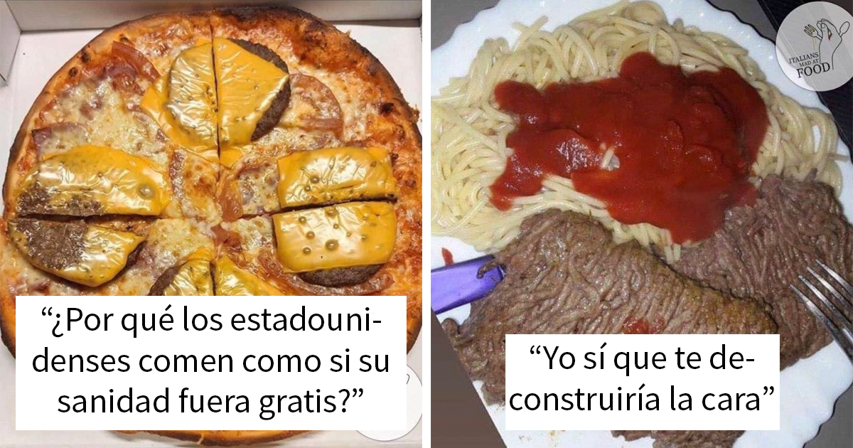 21 Italianos cabreados con los «platos italianos» que preparan otras personas