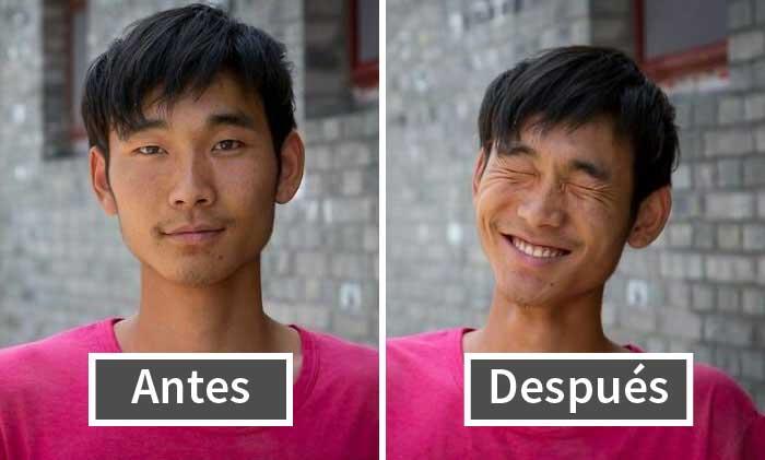 «Así que les pedí que sonrieran»: 10 retratos de desconocidos que muestran el poder de la sonrisa (Nuevas fotos)