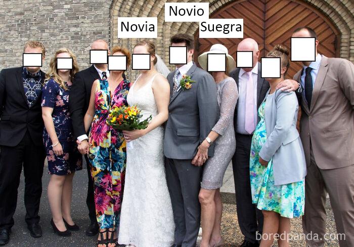 Suegra salvaje: ¡edición de fotos de boda!
