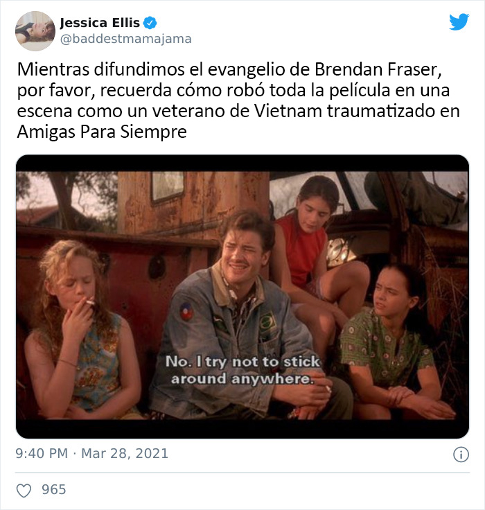 The Internet Just Made Brendan Fraser Go Viral Simply For Being Awesome, And Here Are 30 Of The Best Tweets
