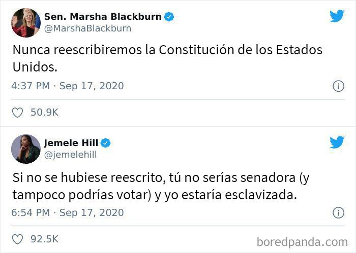 ¿Puede alguien mostrarle la Constitución original a Marsha?