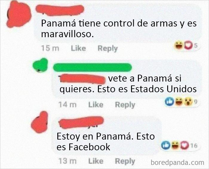 Vete a Panamá, esto es Estados Unidos