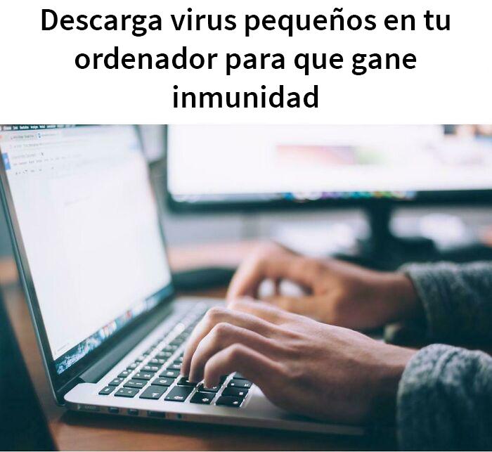 Que tu ordenador esté vacunado