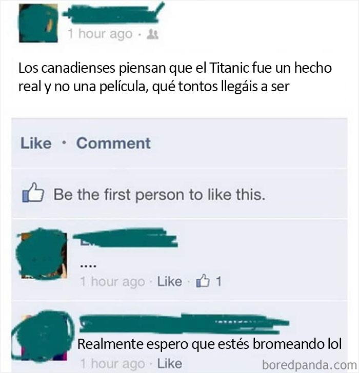 El Titanic es sólo una película, ¿verdad?