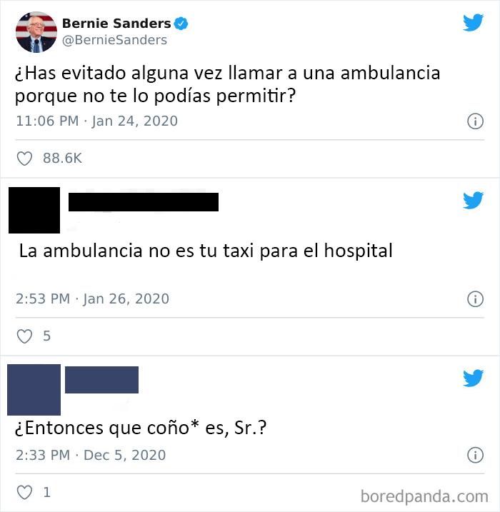 La ambulancia no es su taxi al hospital