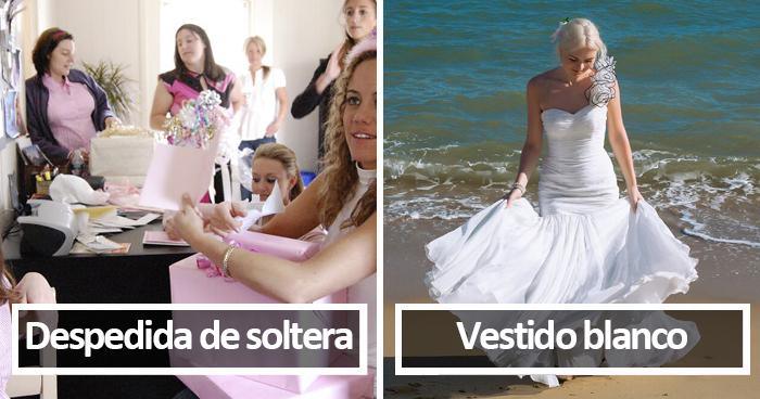30 Tradiciones de boda que la gente eligió o elegiría dejar atrás