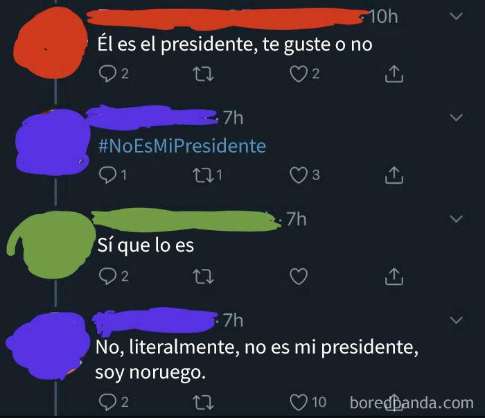 """""""Él es (tu Presidente)"""""""