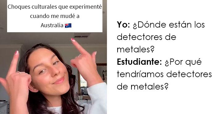 Esta adolescente estadounidense revela cómo es asistir a una escuela australiana