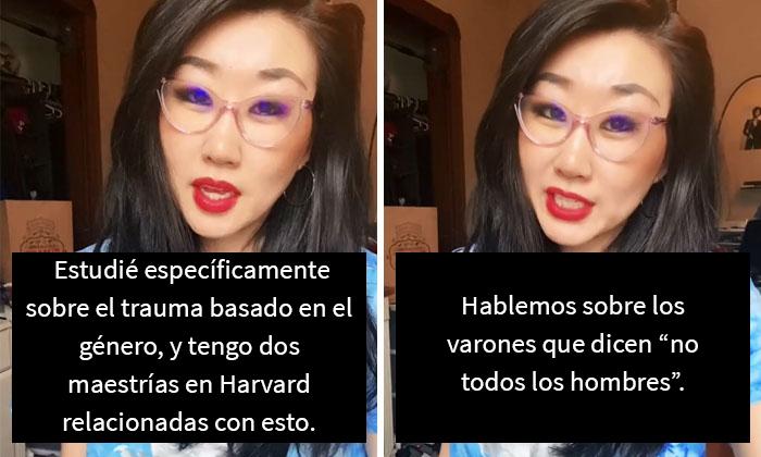"""Esta graduada de Harvard explica la psicología detrás del """"no todos los hombres"""", y ellos le agradecen por abrirles los ojos"""