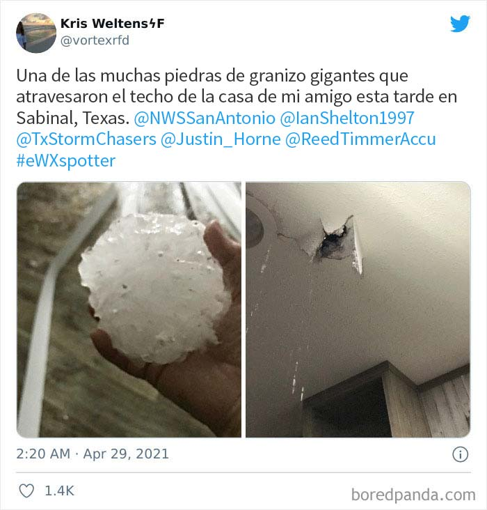 'Gorilla' Hail Struck Texas And Oklahoma Last Night, And This Is How It Looked (30 Pics)