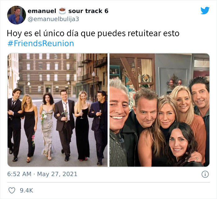 """30 Of The Most Spot-On Reactions Of People Online To The Recent """"Friends"""" Reunion"""