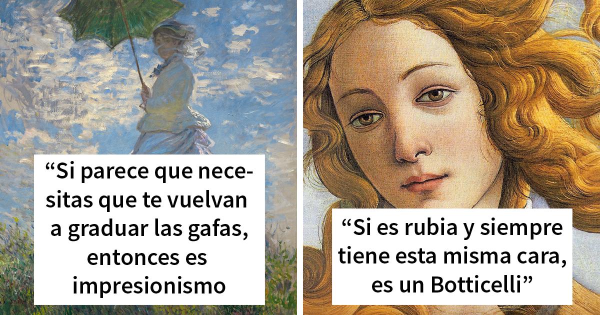 Esta historiadora de arte se vuelve viral por sus consejos para convertirte en «experto en arte»