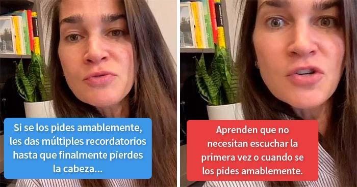 Esta madre se vuelve viral con casi 400000 likes al explicar por qué algunos niños no escuchan hasta que se les grita