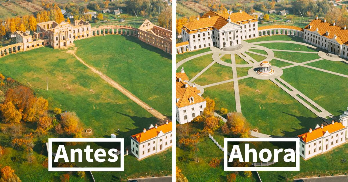 Este es el aspecto de 7 palacios del mundo en su plenitud antes de caer en ruinas
