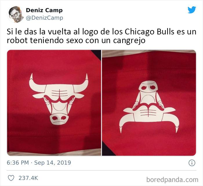 Gracias, odio el logotipo de los Chicago Bulls