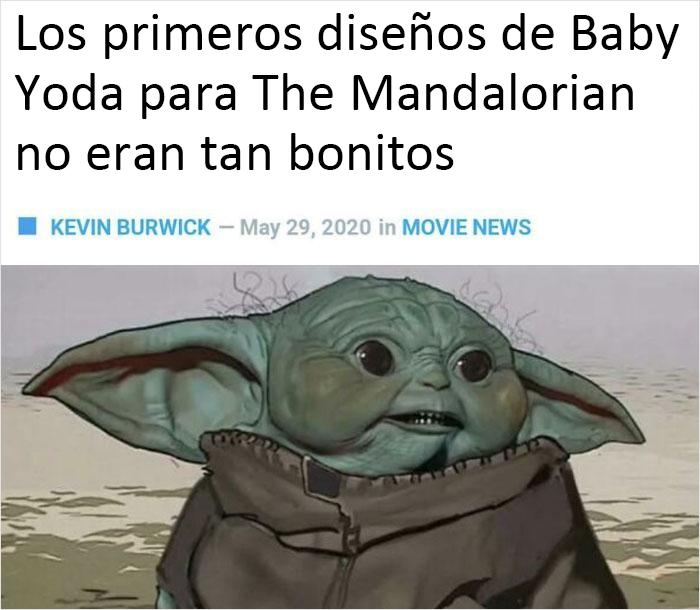 Podría haber odiado aún más al bebé Yoda