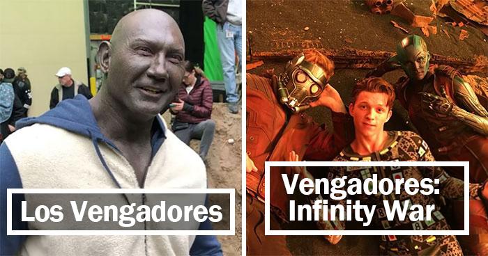 30 Fotos entrañables de Marvel entre bastidores, que muestran la magia especial de sus películas
