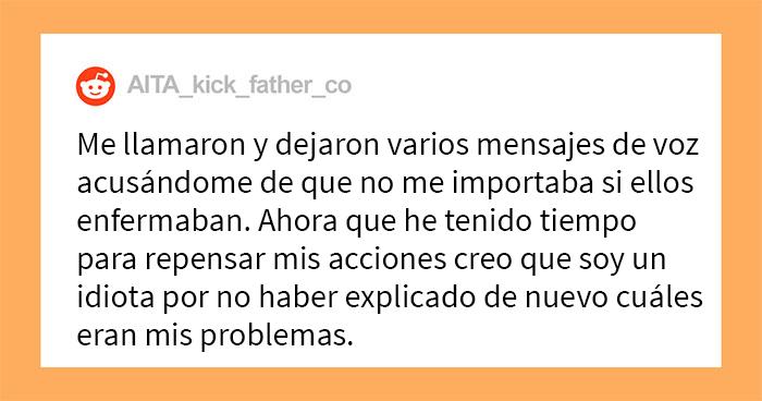 Este padre se enfurece después de descubrir que sus propios padres maltrataban a sus hijos, y los echa de su casa en plena pandemia