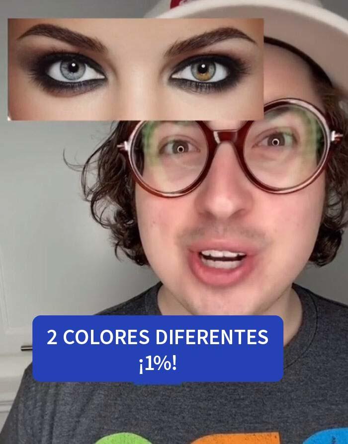 Qué tan raro es tu color de ojos: edición 2021