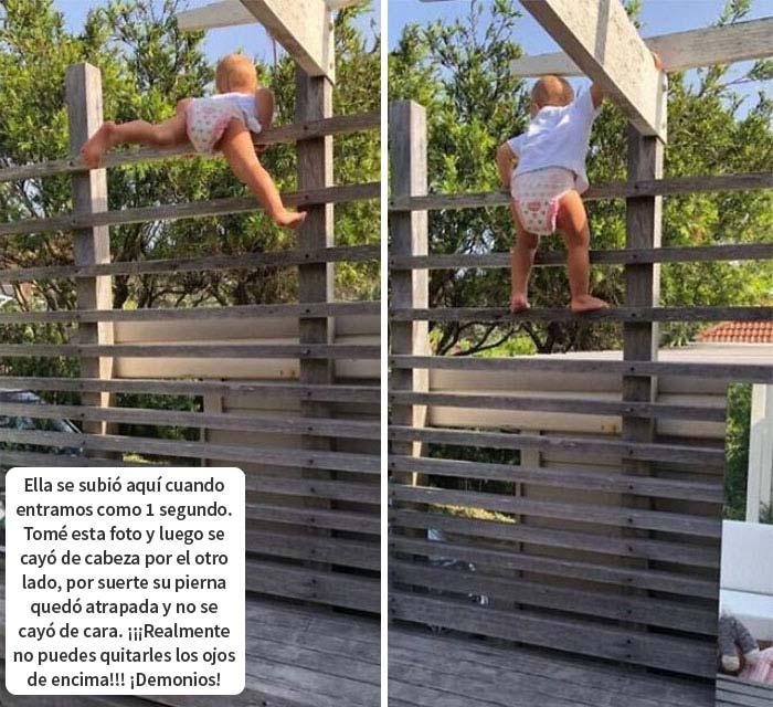 Tomar una foto en vez de salvar a tu hija