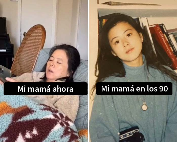 26 Times Kids Realized Their Parents Were Cooler Than Them And Shared These Pics For A New TikTok Challenge