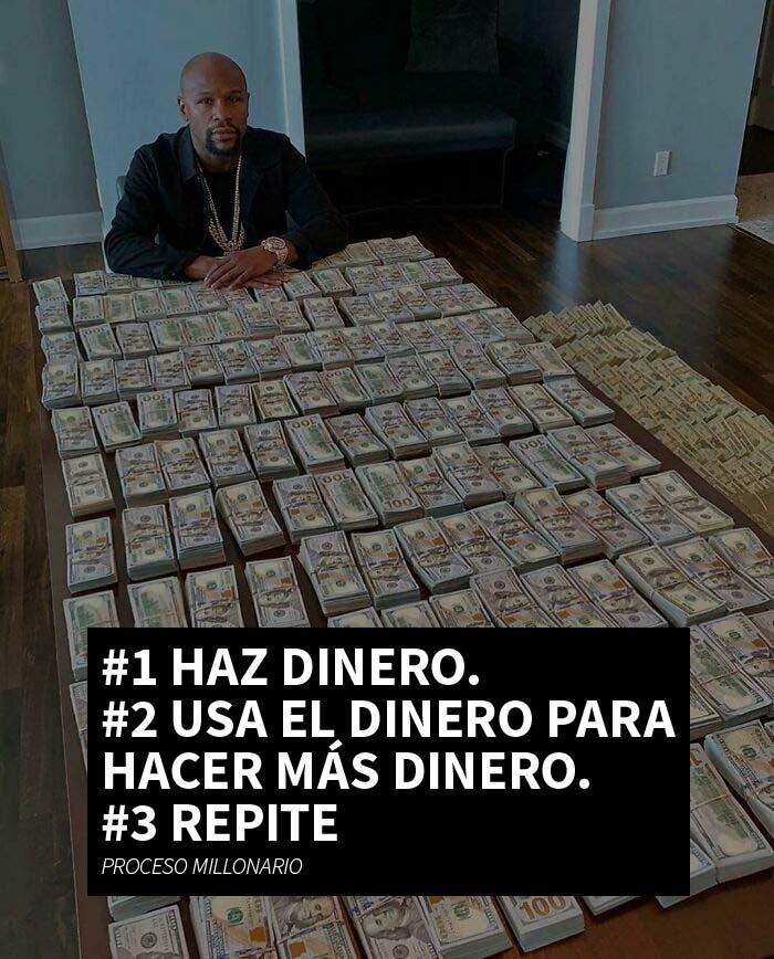 Sólo hay que ganar dinero, ¡es así de fácil!