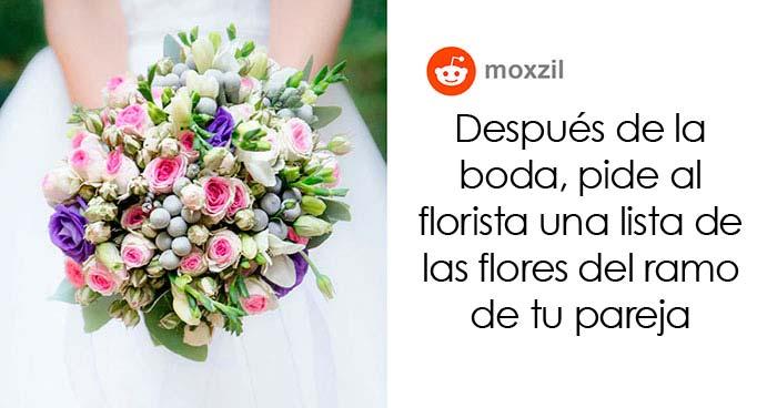 20 Trucos para las bodas que debería ver cualquiera que se vaya a casar