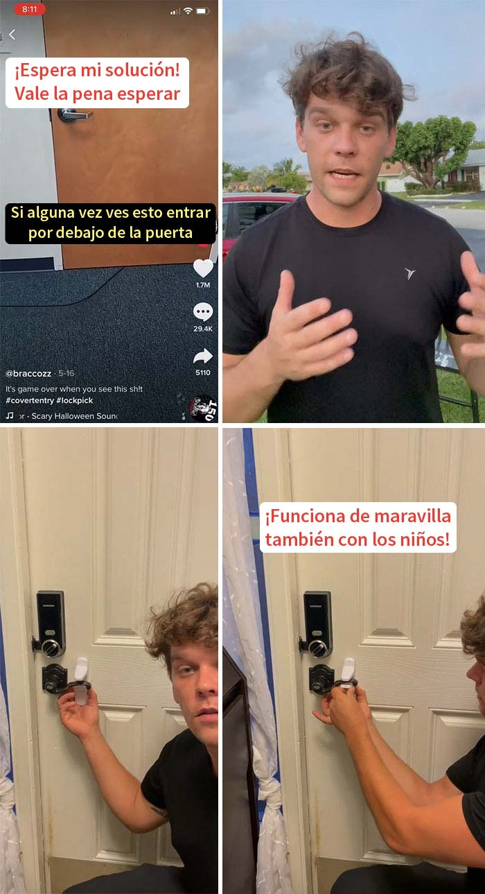 Trucos de seguridad en la puerta de la universidad