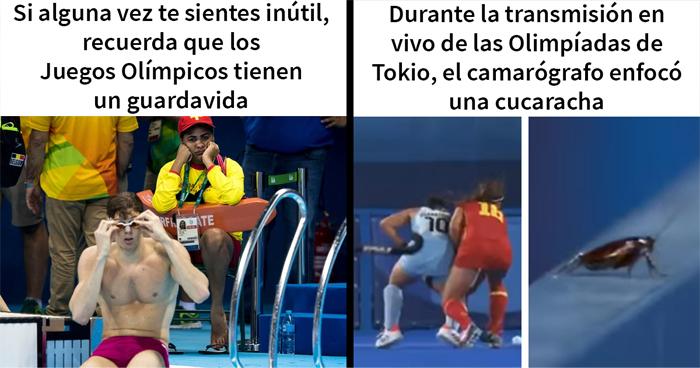 30 Divertidos memes sobre los Juegos Olímpicos de Tokio