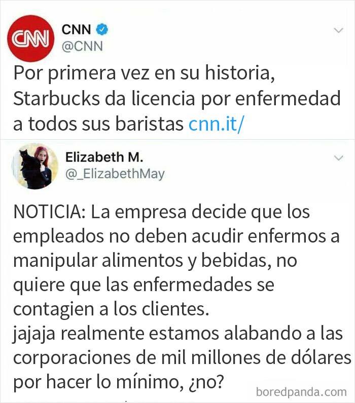 Starbucks da licencia por enfermedad
