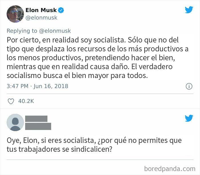 La escoria capitalista se cree socialista