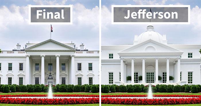 Estos diseñadores muestran el aspecto que podría haber tenido la Casa Blanca si estos 5 proyectos no se hubieran rechazado